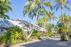 self contained villas at the Islander Noosa Resort